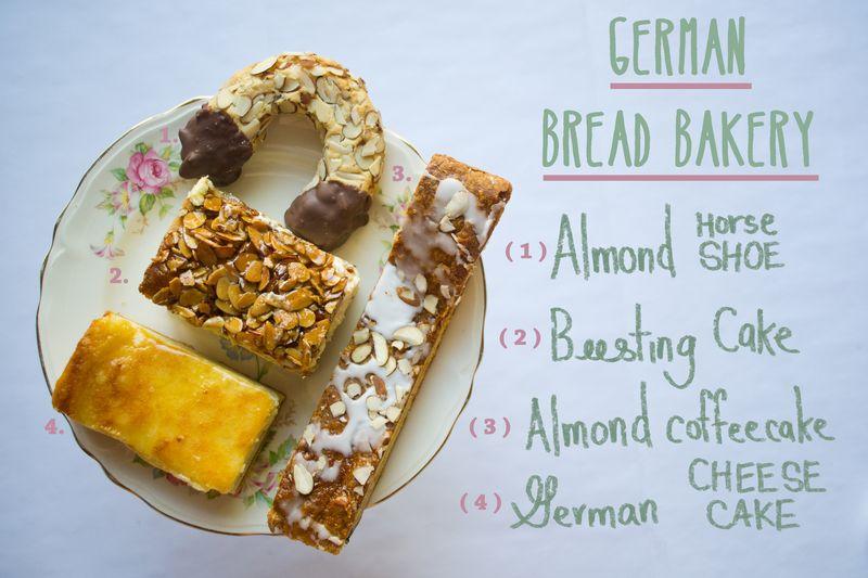 German bread bakery
