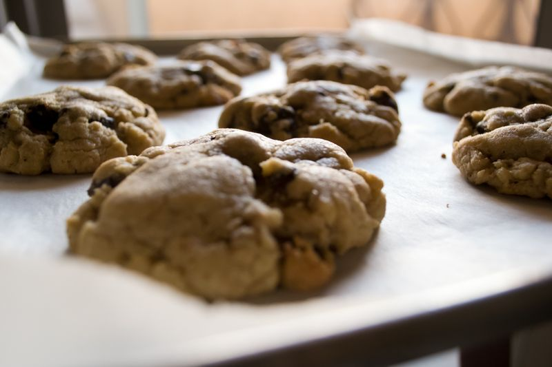 Chocolate bacon cookies 2