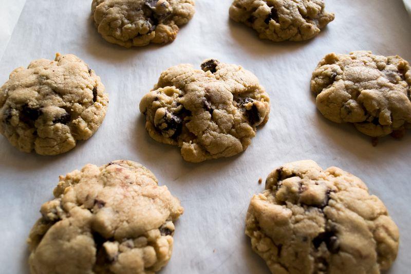 Chocolate bacon cookies 3